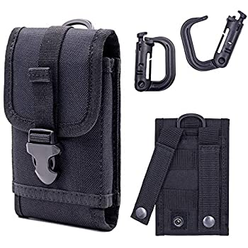 Tactical MOLLE Smartphone Holster, Universal Army Mobile