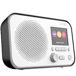 Pure Elan E3 (DAB/DAB+ Digitale e radio FM con timer da cucina) Nero