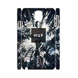 LSQDIY(R) huf Samsung Galaxy Note 3 N9000 DIY 3D Case, Brand New Samsung Galaxy Note 3 N9000 3D Plastic Case huf
