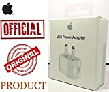 #8: 100% Original Power Adapter/Charger Fast Charging Adapter with USB Cable COMPATIBLE for Apple Iphone 5/5s/6/6s/7/7 Plus