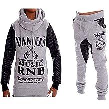 Daniel \u0027s , Jogging enfant Sarouel et sweat col châle Daniel\u0027s Music gris  taille 10
