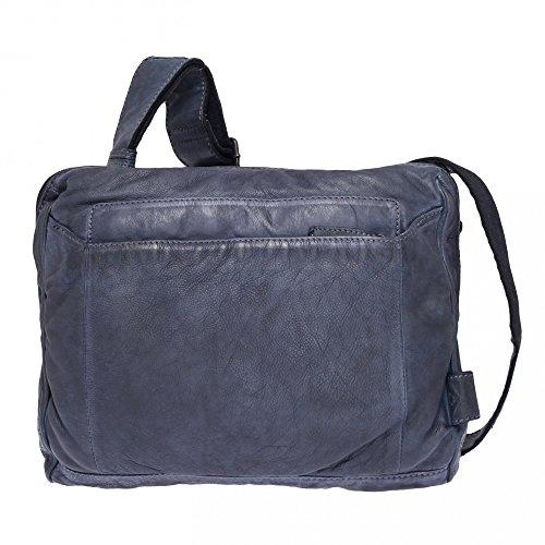 Voi Leather Design, Borsa a tracolla donna Blau
