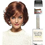 Danica Wig by Revlon, 15 Page Christy's Wigs Q & A Booklet, 2oz Travel Size Wig Shampoo, Wig Cap & Wide Tooth Comb COLOR SELECTED: TOMATO BISQUE