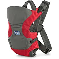 Chicco Go Moon Backpack Carrier, 0to 9kg Rojo y gris