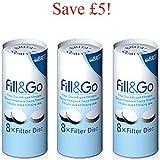 Brita Fill & Go filter discs - 6 Months Supply (SAVE £5)