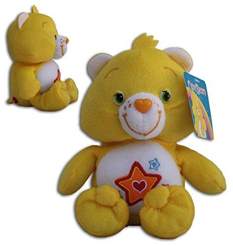 Superstar, Osos amorosos, 42 cm de pie y 34 cm sentado Super Suave Muñeco Amarillo Estrella Peluche Serie TV