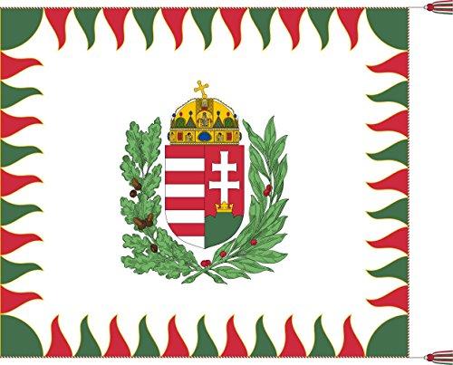 War Flag of Hungary | Colour for brigades | Oficiala milita armea flago de Hungario | 1990 M Bandiera 20x30cm per Diplomat-Flags Bandiere per Auto