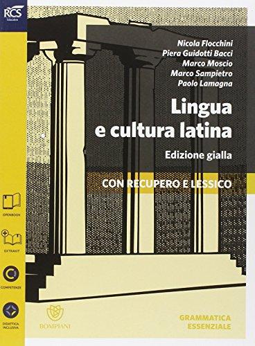 Lingua e cultura latina e lessico. Grammatica-Lessico-Repertori lessicali. Ediz. gialla. Per le Scuole superiori. Con espansione online: 1