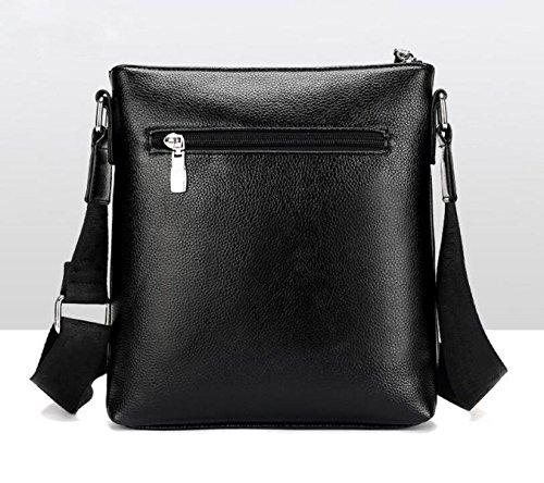 Hochwertige Einfache Schloßgroße Kapazitätsmänner Schultertasche Computertasche Handtaschen Aktenkoffer Brown1