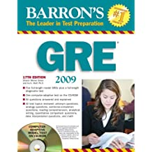How to Prepare for Graduate Record Exam (Barron's GRE (W/CD))