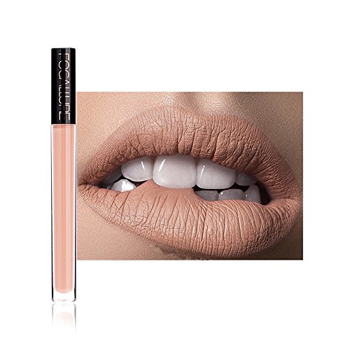 Bauycy Lippenstift-Matt Antihaft Lippenglasur Neue Mode Lippenstift Kosmetik Frauen Sexy Lippen Lipgloss Party Nude Set,Lippenstifte Liquid Matte Lipstick Dauerrhaft Lip Liner Make up -