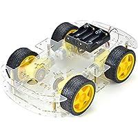 TBS 2652 Chassis voiture Arduino - Voiture Robot Intelligente - Avec Encodeur de vitesse - Smart Robot Car Arduino with Speed Encoder