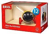 BRIO Infant & Toddler - Mini Push Along Bumblebee