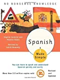 Spanish Made Simple Bilingual Edition by Nemethy, Judith published by Random House Inc (2004)