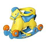 #4: Dash Fashionable 2 in 1 Horse Rocker 'n' Ride on (Blue)