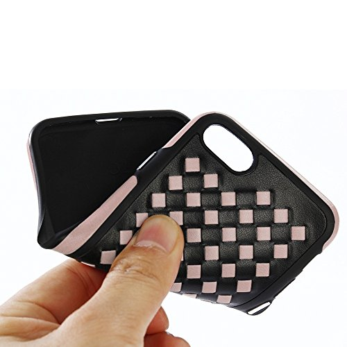 GHC Cases & Covers, Für iPhone 6 u. 6s Bowknot volle Abdeckung Shockproof schützender rückseitiger Abdeckungs-Fall ( Color : Red ) Rose gold