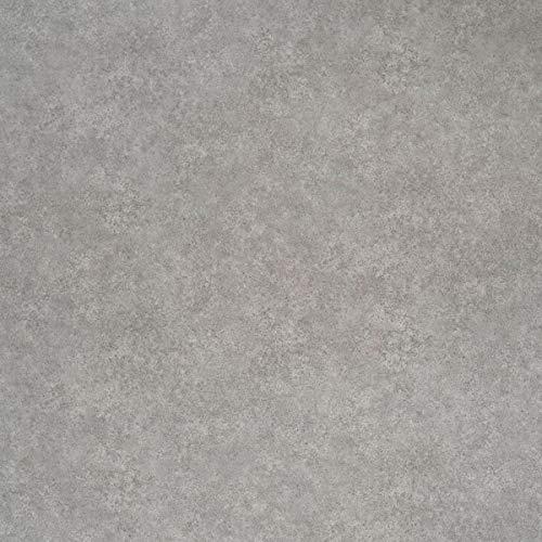 JOKA PVC Vinyl-Bodenbelag in Uni Beton Grau | CV JOKA PVC-Belag verfügbar in der Breite 400 cm & Länge 250 cm | CV-Boden wird in benötigter Größe als Meterware geliefert | rutschhemmend