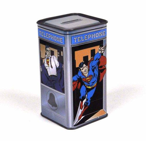 Superman Clark Kent Phone Booth Salvadanaio (Clark Superman Kent)
