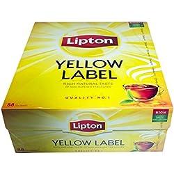 Lipton Yellow Label Tea Quality No. 1 88 Teebeutel Schwarzer Tee