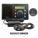 ABC Products® Ersatz CCrane / C Crane Akku Ladegerät, Netzteil, Netzadapter, Netzanschluss DC 7.5V, 7.5 Volt für CC WiFi (CWF) Internet Radio
