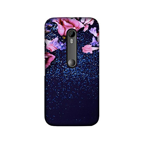 theStyleO Quality Printed Back Cover for Moto G3 (3rd Gen)/Moto G Turbo Edition [Pink Rose]