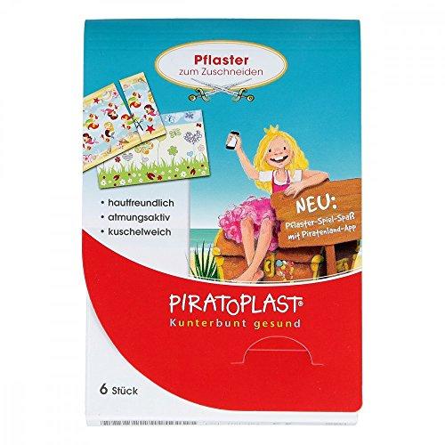 (Piratoplast Mädchen Pflasterzuschnitt 6x10 cm 6 stk)