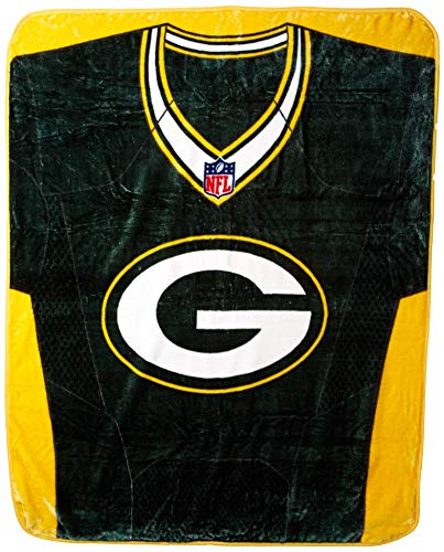 Green Bay Packers 50x 60NFL Jersey Design Royal -