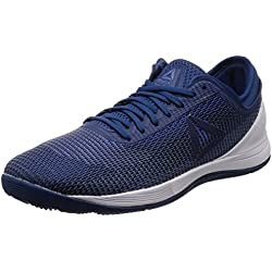 Reebok R Crossfit Nano 8.0, Zapatillas de Entrenamiento para Hombre, Azul (Bunker Blue/Vital Blue/Blue Slate/Spirit White 0), 42 EU