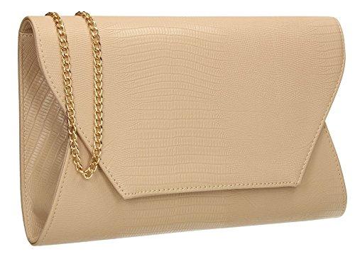 SwankySwans , Damen Clutch One Size beige