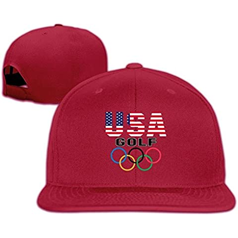uanla Estados Unidos Olympic Golf Gorra de béisbol Snapback sombreros