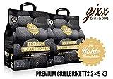 Kohlemanufaktur Premium Grillbriketts (2 x 5 kg)