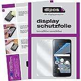 dipos Blackberry DTEK50 Schutzfolie (2 Stück) - kristallklare Premium Folie Crystalclear