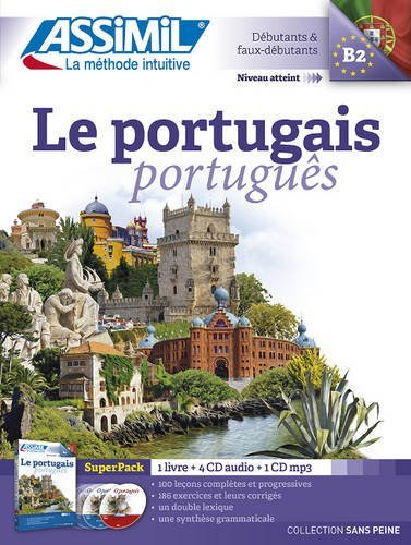 Le Portugais superpack (livre+4CD audio+1CD mp3)