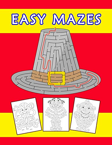 Easy Mazes: The Ultimate Maze Activity Book for kids (Handheld-brettspiele)