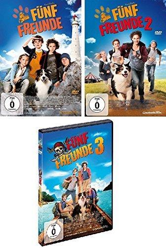 Fünf Freunde - Kinofilme 1-3 im Set - Deutsche Originalware [3 DVDs]