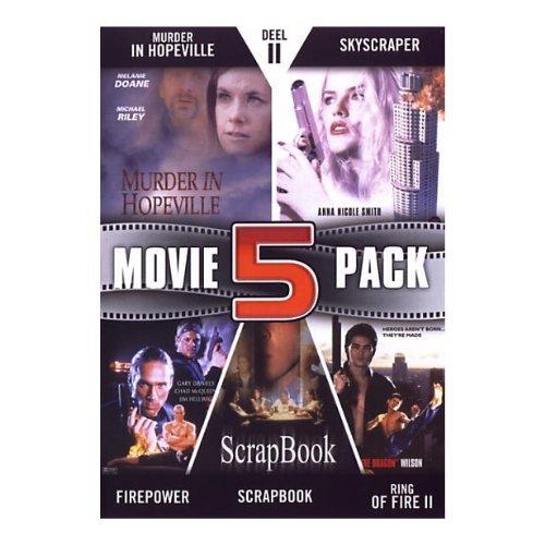 Bild von Movie 5 Pack Collection (Part 11) ( Murder in Hopeville / Skyscraper / Firepower / Scrapbook / Ring of Fire II: Blood and Steel ) [ Holländische Import ]