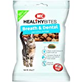 Mark and Chappell Ltd Breath and Dental Healthy Bites for Cats and Kittens 65 g (Pack of 6)