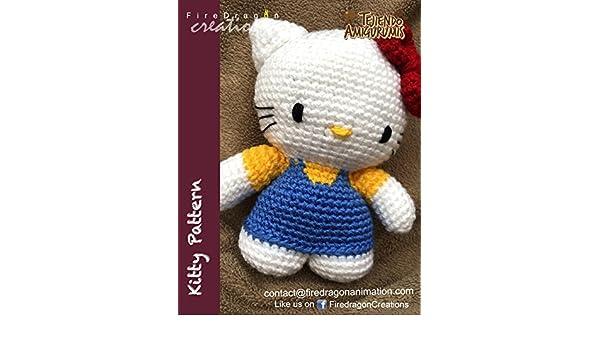 How i sew Mini hello kitty crochet - YouTube | 350x600