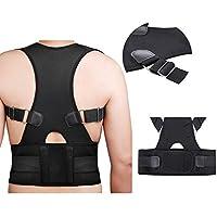 ZSZBACE Geradehalter zur Haltungskorrektur - Rücken Schulter Verstellbar Atmungsaktiv Rückenbandage Rückenhalter... preisvergleich bei billige-tabletten.eu