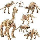 omufipw 12 PCS Éducatifs Simulé Dinosaure Squelette...