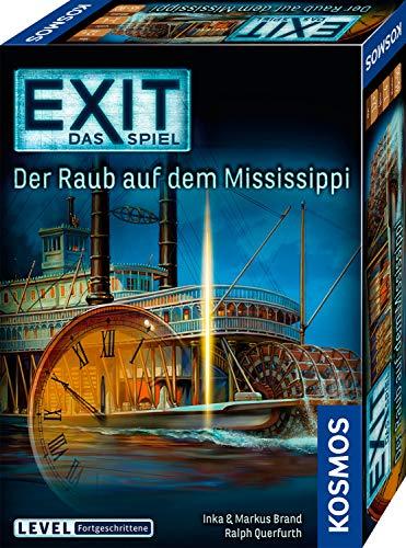 51ZhWN%2BnJtL - KOSMOS 691721 EXIT - Das Spiel - Der Raub auf dem Mississippi, Level: Fortgeschrittene, Escape Room Spiel