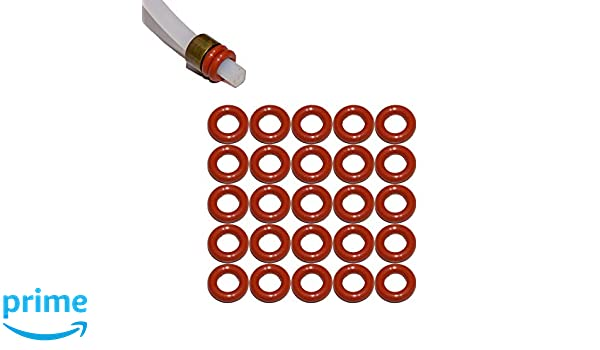 Jura Guarnizione 100 pezzo per Teflon-PRESSIONE TUBI//O-RING 4,0 x 2,0 mm-VMQ