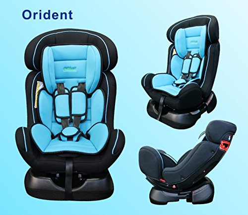 ORIDENT Autokindersitz BXS 0-25 kg Gruppe-0+1+2 nach Norm ECE 44-04 (Blau)