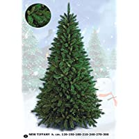 FLORA SRL Newtiffany Albero di Natale, Verde, 210 cm