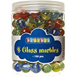 Playbox 16 mm Glass Marbles (Multi-Colours)