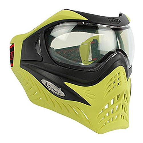 G.I. Sportz Paintball Maske VForce Grill Thermal Limited, Black On Lime, 63785 -