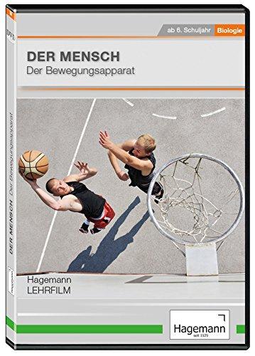 Der Mensch - Der Bewegungsapparat - DVD - Lehrfilm für Unterricht und Ausbildung - Hagemann 180261 - Einzel- und Schullizenz