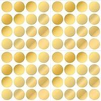 Wallpops Gold Effect Confetti Dots, Vinyl