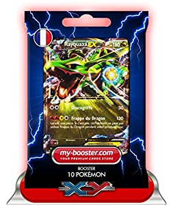 RAYQUAZA EX (promo) XY73 180PV XY07 - Booster de 10 cartes Pokemon francaises my-booster