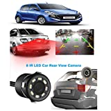 Xezon 170° Degree Car Rear View Reversing Camera 8 LED HD Night Vision CMOS Sensor Camera Universal for Hyundai Santro